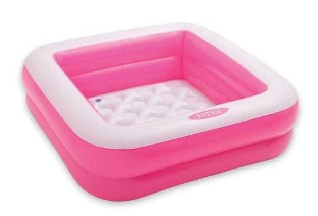 Marimex Bazén nafukovací čtverec - růžový - 116300831