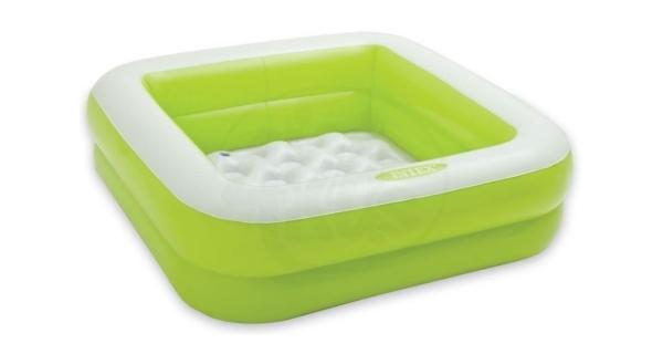Bazén nafukovací čtverec - zelený