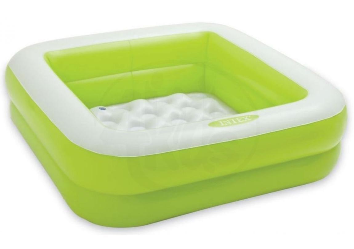 Marimex Bazén nafukovací čtverec - zelený - 116300832