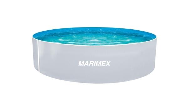 Bazén Orlando 3,66x0,91 m bez příslušenství - motiv bílý