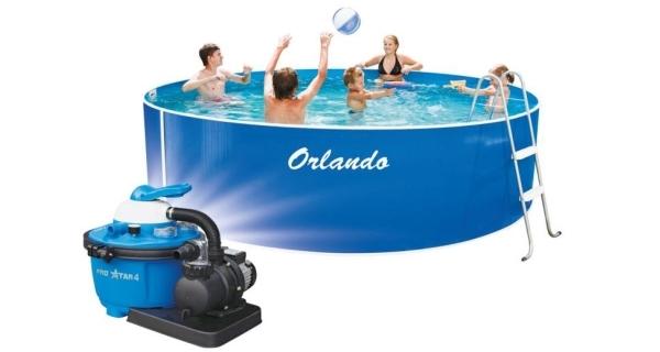 Bazén Orlando 3,66x0,91 m s pískovou filtrace ProStar 4