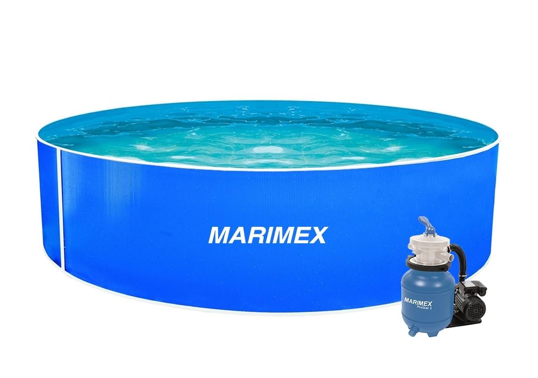Marimex Bazén Orlando 3,66x0,91 m s pískovou filtrací a příslušenstvím - 10300017