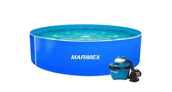 Bazén Orlando 3,66x0,91 m s pískovou filtrací a příslušenstvím