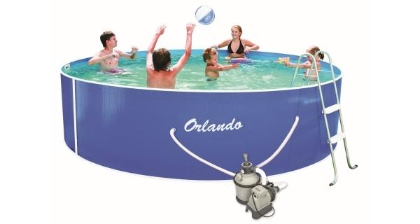 Bazén Orlando 3,66x0,91m  s pískovou filtrací Sand 4