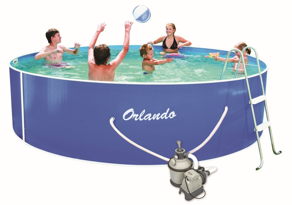 Marimex Bazén Orlando 3,66x0,91m s pískovou filtrací Sand 4 - 10300033