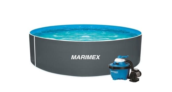 Bazén Orlando 3,66x1,07 m s pískovou filtrací a příslušenstvím