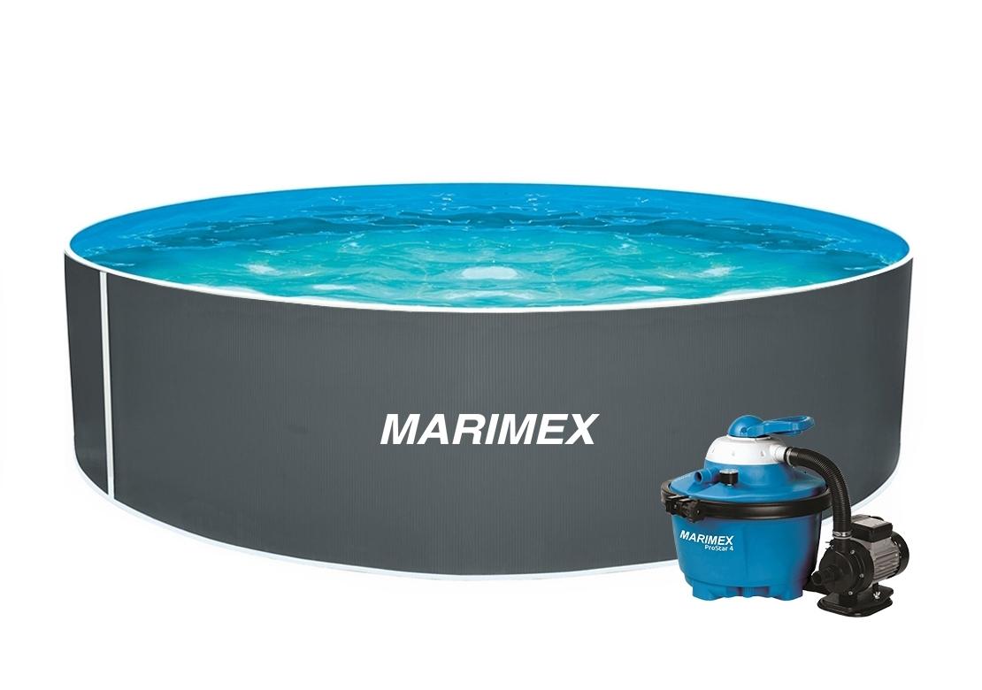 Marimex Bazén Orlando 3,66x1,07 m s pískovou filtrací a příslušenstvím - 19900043