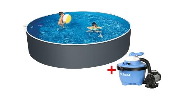 Bazén Orlando 3,66x1,07 m s pískovou filtrací  ProStar 4 a příslušenstvím