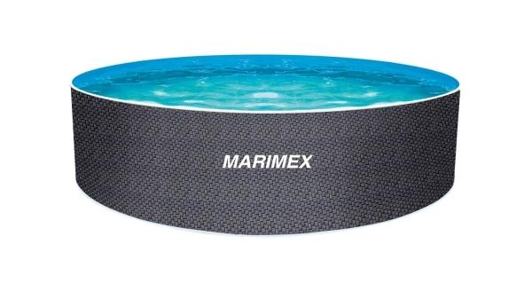 Bazén Orlando 3,66x1,22 m bez příslušenství - motiv RATAN