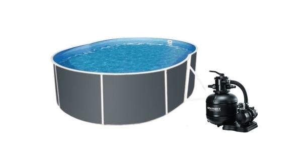 Bazén Orlando Premium DL 3,66x5,48 m s pískovou filtrací a příslušenstvím