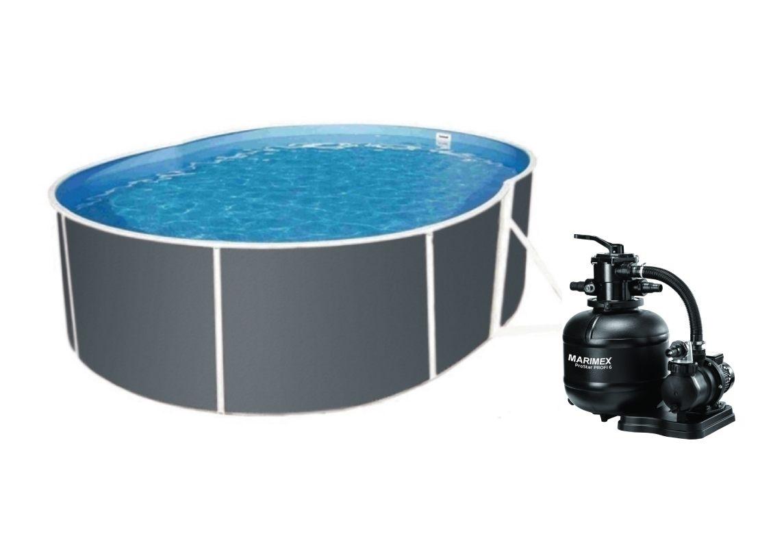 Marimex Bazén Orlando Premium DL 3,66x5,48 m s pískovou filtrací ProStar Profi 6 - 19900103