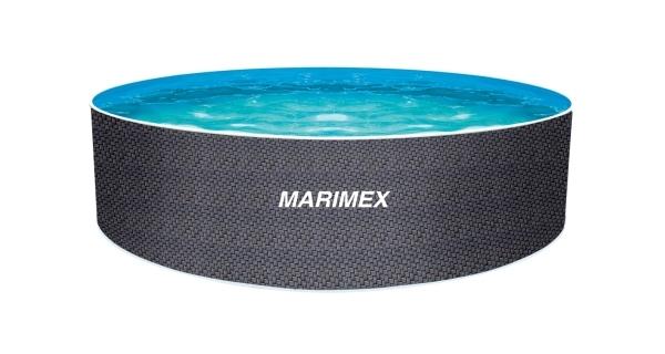 Bazén Orlando Premium DL 4,60x1,22 m bez příslušenství - motiv RATAN
