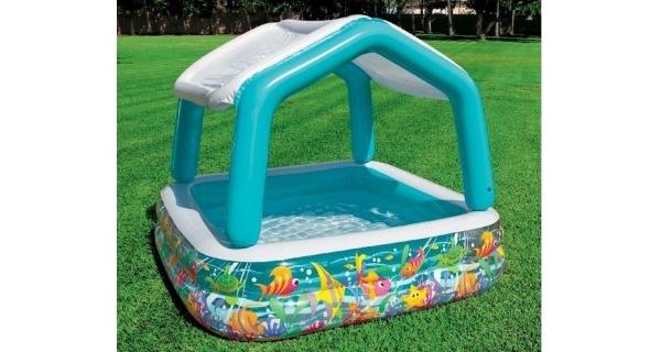 Bazén se stříškou