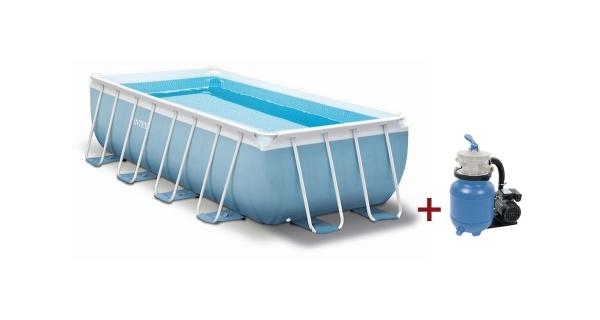 Bazén Tahiti 2,00 x 4,00x 1,00 m s pískovou filtrací ProStar 3