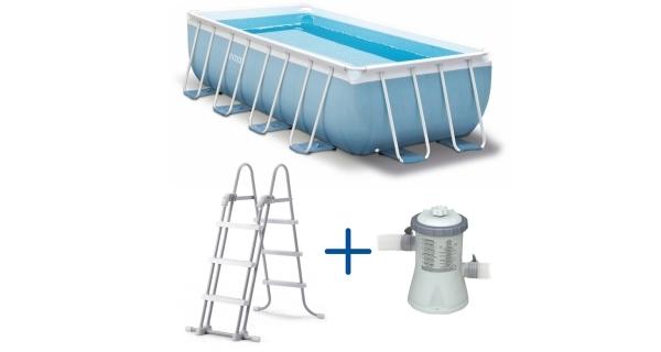 Bazén Tahiti 2,44 x 4,88 x 1,07 m. s kartušovou filtrací
