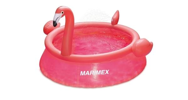 Bazén Tampa 1,83x0,51 m bez příslušenství - motiv Plameňák