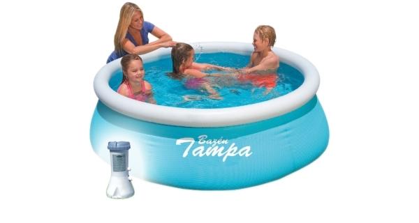 Bazén Tampa 1,83x0,51 m s kartušovou filtrací