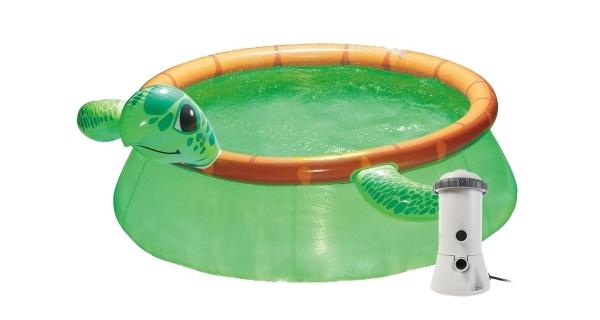 Bazén Tampa 1,83x0,51 m s kartušovou filtrací - motiv Želva