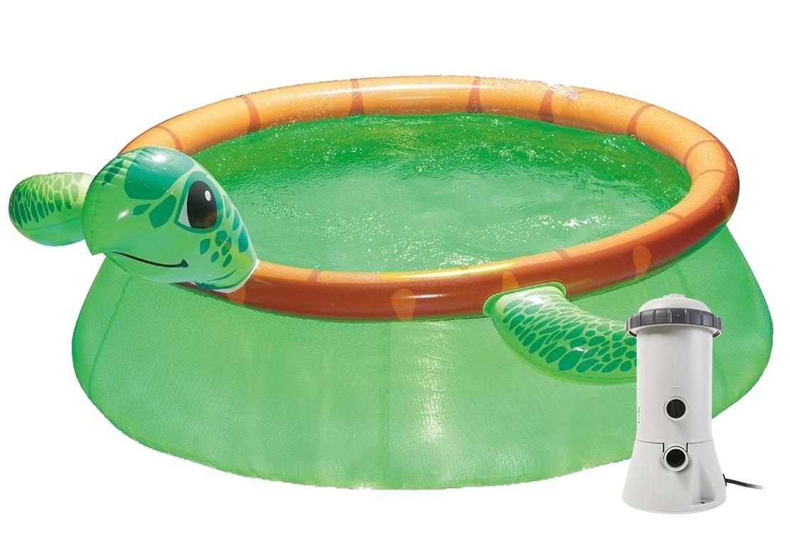 Marimex Bazén Tampa 1,83x0,51 m s kartušovou filtrací - motiv Želva - 19900108