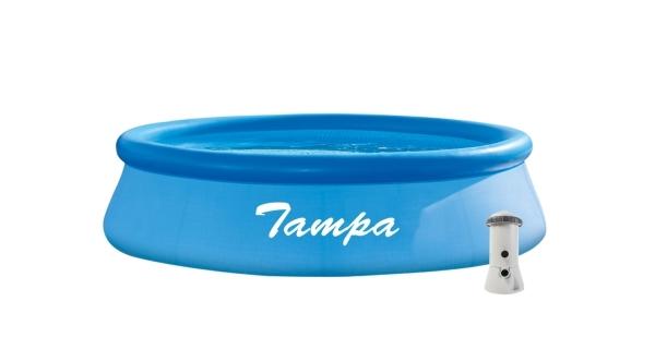 Bazén Tampa 2,44x0,76 m s kartušovou filtrací