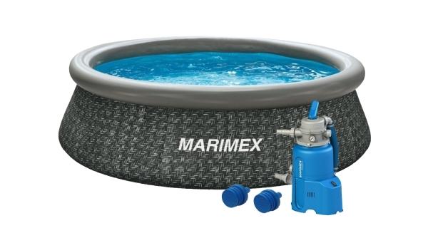 Bazén Tampa 3,05x0,76 m s pískovou filtrací - motiv RATAN