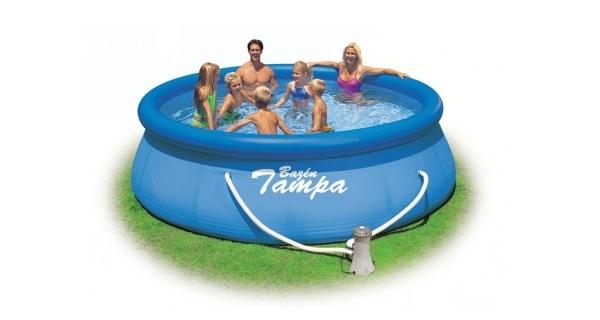 Bazén Tampa 3,66x0,76 m s kartušovou filtrací