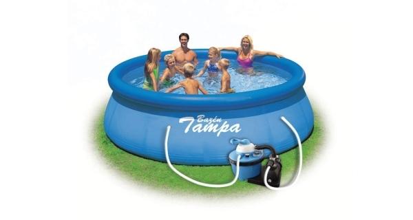 Bazén Tampa 3,66x0,76 m s pískovou filtrací