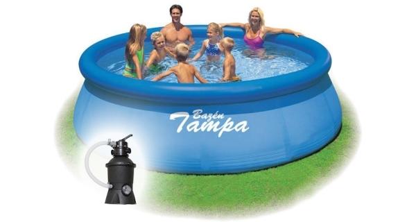 Bazén Tampa 3,66x0,84 m s pískovou filtrací ProStar 2