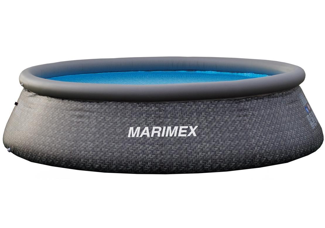Marimex Bazén Tampa 3,66x0,91 m bez filtrace - motiv RATAN - 10340218
