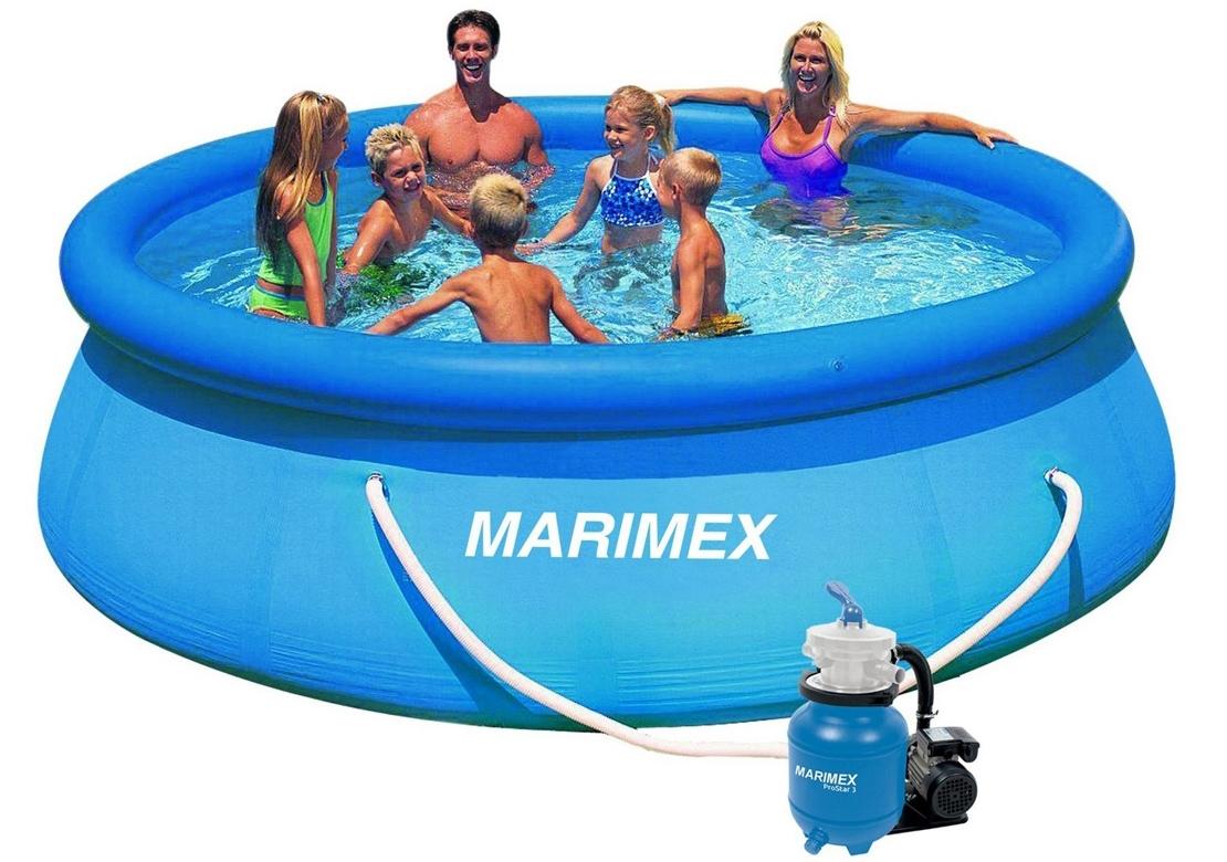 Marimex Bazén Tampa 3,66x0,91 m s pískovou filtrací ProStar 3 - 10340145