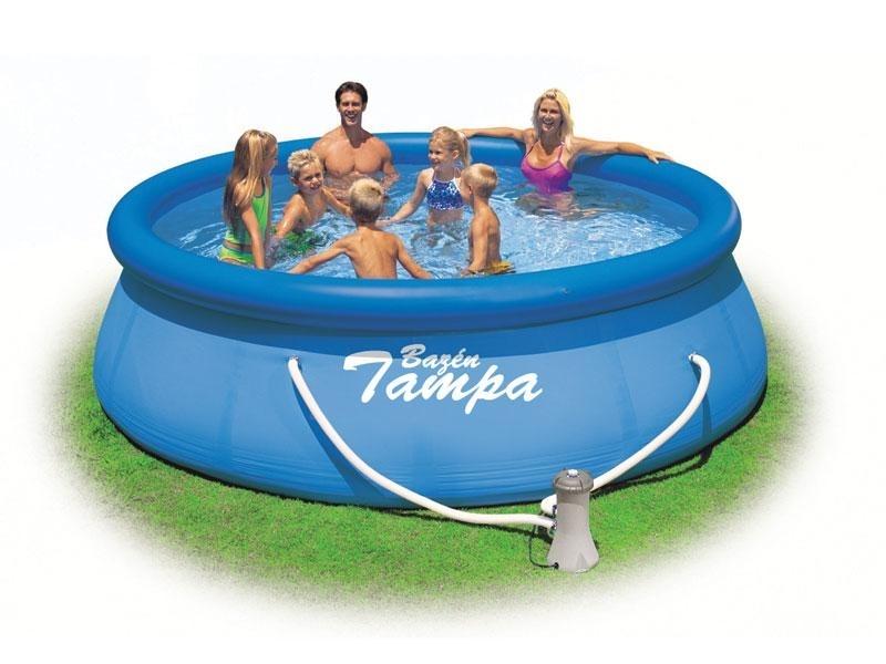Marimex Bazén Tampa 3,96x0,84 m s kartušovou filtrací - 19900053