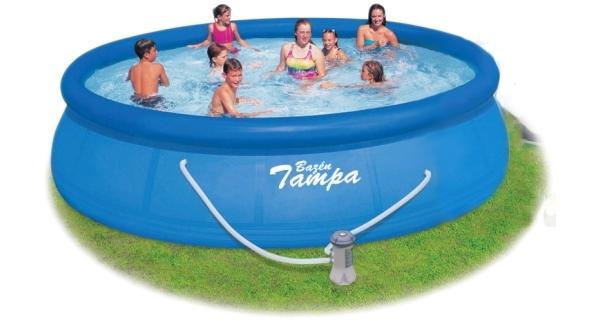 Bazén Tampa 4,57x0,91 m s kartušovou filtrací bez příslušenství