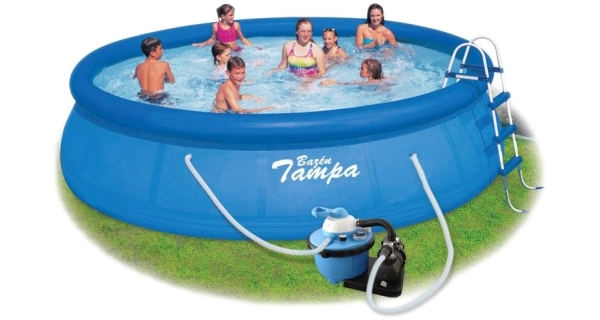 Bazén Tampa 4,57x0,91 m s pískovou filtrací ProStar 4