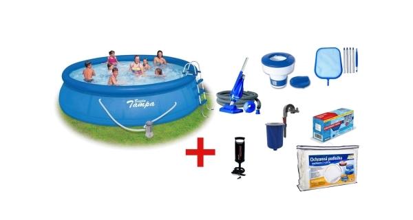 Bazén Tampa 4,57x1,07 m s filtrací a příslušenstvím
