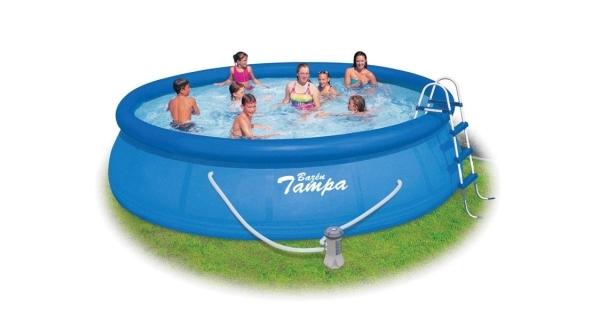 Bazén Tampa 4,57x1,07 m s kartušovou filtrací