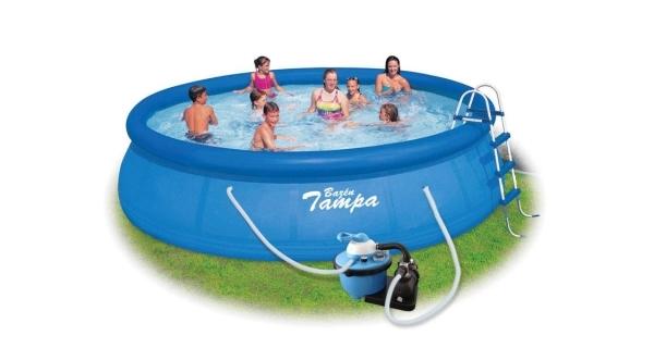 Bazén Tampa 4,57x1,07 m s pískovou filtrací
