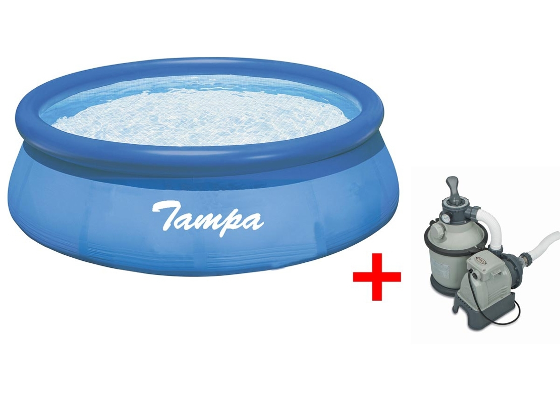 Marimex Bazén Tampa 4,57x1,07 m. s pískovou filtrací Sand 4 - 10340127