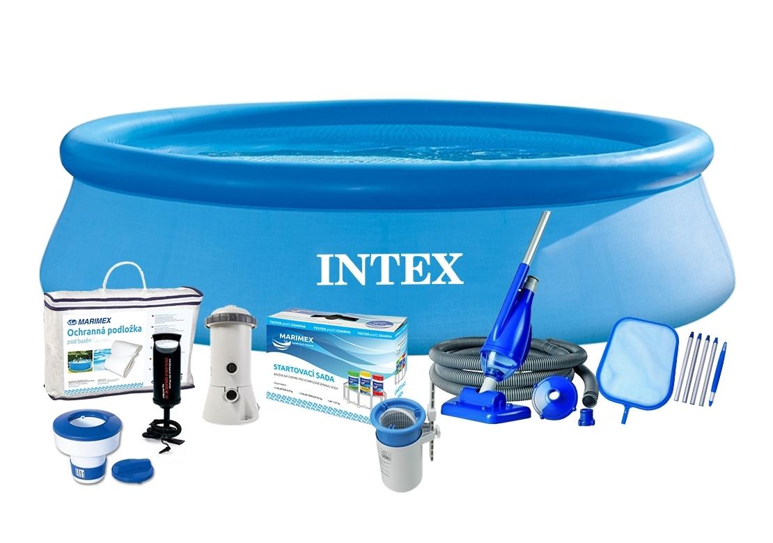 Marimex Bazén Tampa 4,57x1,22 m s kartušovou filtrací a příslušenstvím - 19900042