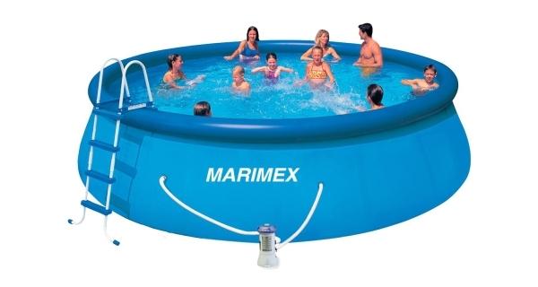 Bazén Tampa 4,57x1,22 m s kartušovou filtrací