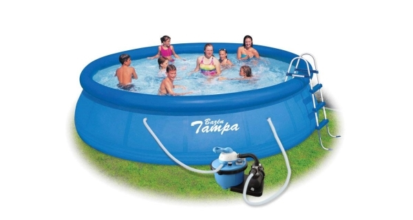 Bazén Tampa 4,57x1,22 m s pískovou filtrací