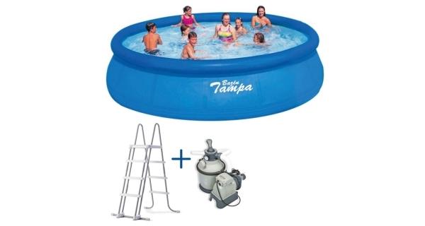 Bazén Tampa 4,57x1,22 m. s pískovou filtrací Sand 4