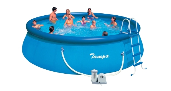 Bazén Tampa 5,49x1,22 m s kartušovou filtrací