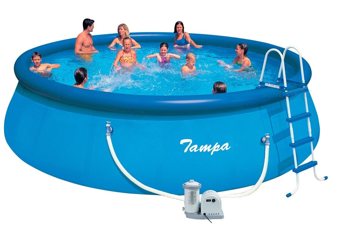 Marimex Bazén Tampa 5,49x1,22 m s kartušovou filtrací - 10340010