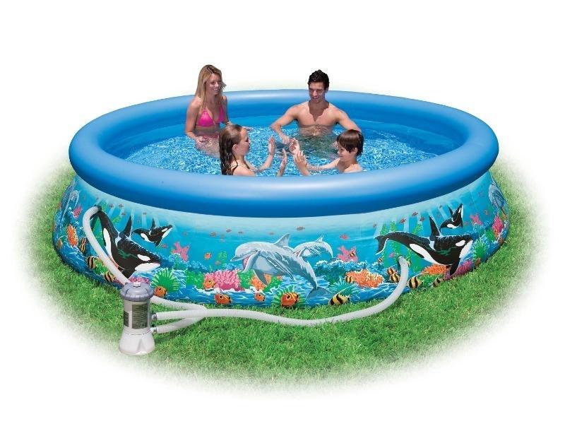 Marimex Bazén Tampa Ocean 3,05x0,76 m s kartušovou filtrací - 10340049