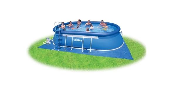 Bazén Tampa ovál 3,05x5,49x1,07 m s kartušovou filtrací