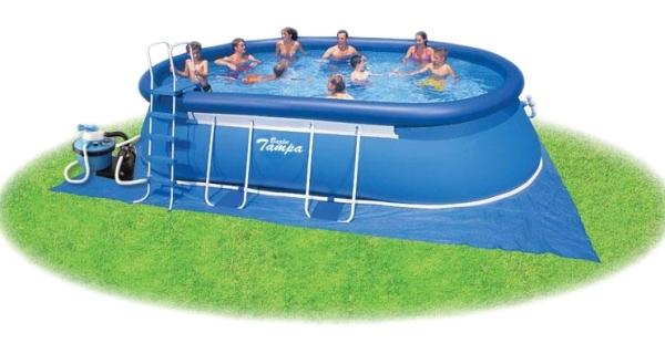 Bazén Tampa ovál 3,05x5,49x1,07 m s pískovou filtrací ProStar 6