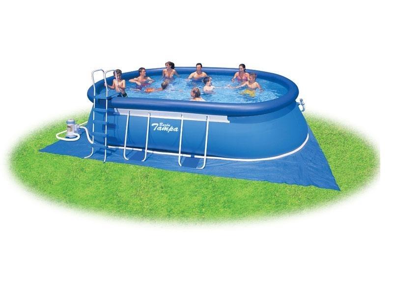 Marimex Bazén Tampa ovál 3,66x6,10x1,22 m s kartušovou filtrací - 10340018
