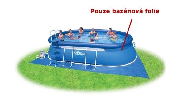 Bazén Tampa Ovál 3,66x7,30x1,22 m. bez příslušenství