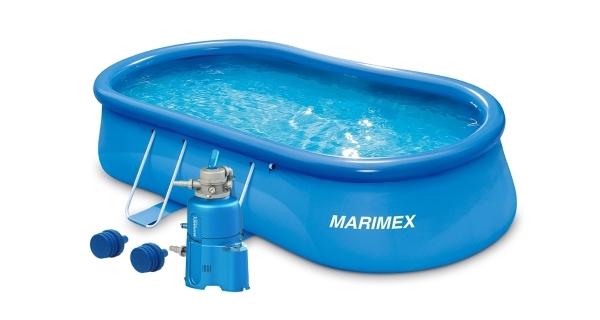 Bazén Tampa ovál 5,49x3,05x1,07 m s pískovou filtrací