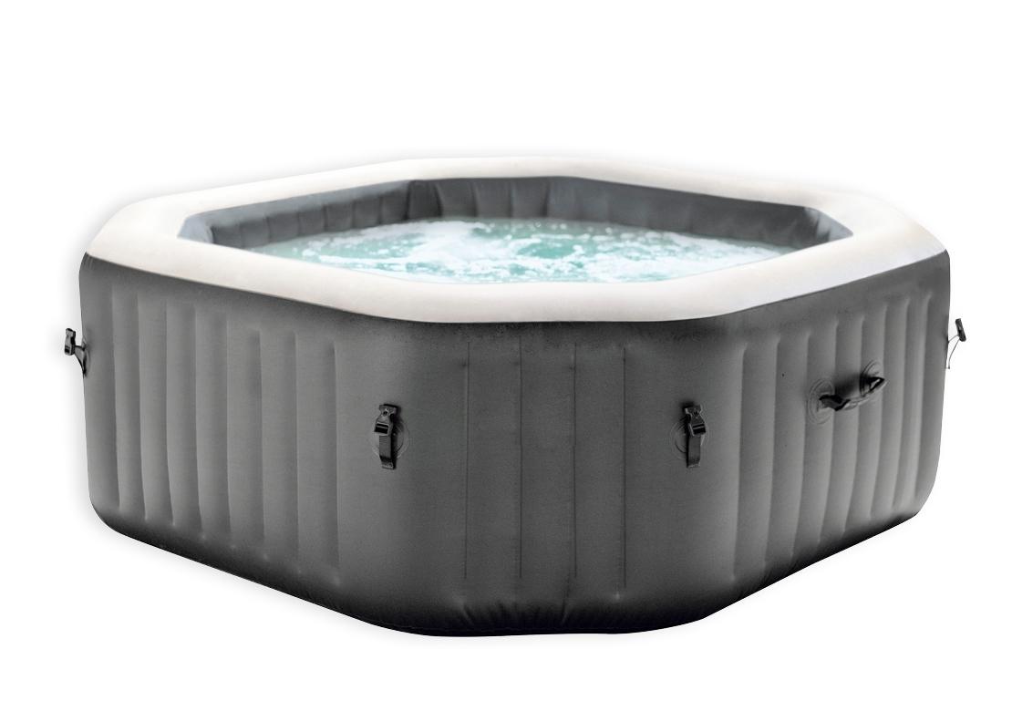 Marimex Bazén vířivý nafukovací Pure Spa - Bubble čtverec (vystavený) - 114002212